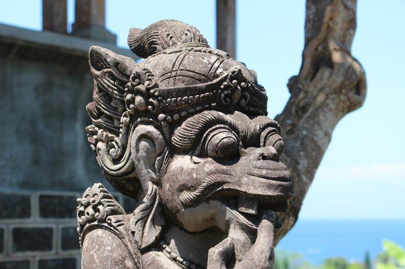 Bemused Statue Taman Ujung Water Palace
