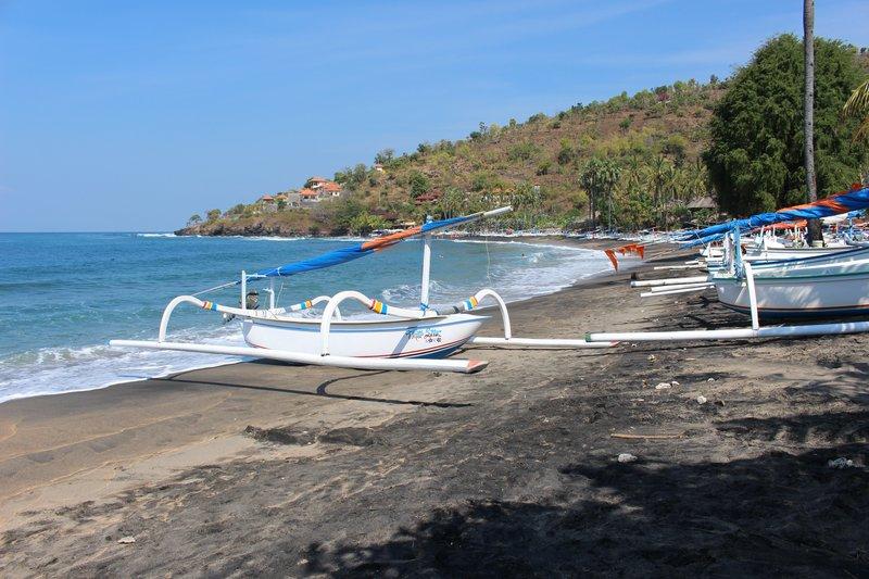 Boats Amed Beach