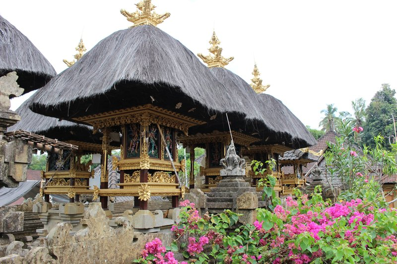 Typical Balinese Village