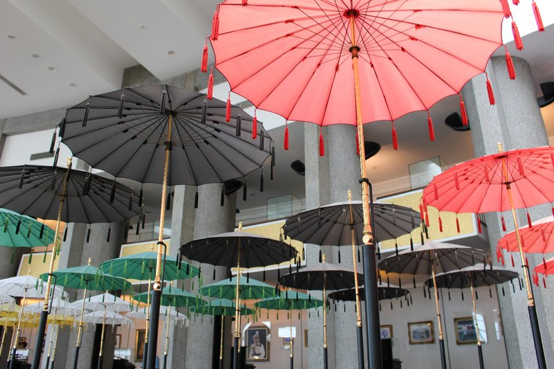 Umbrellas Royal Regalia Museum