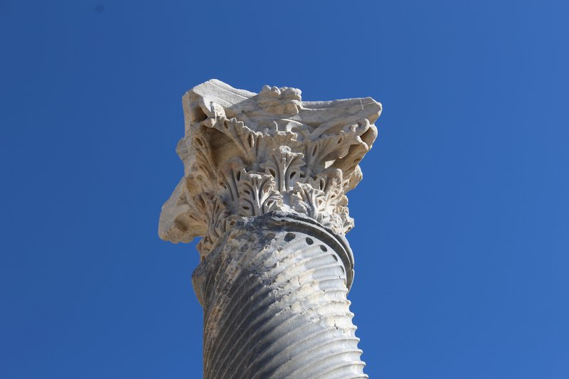 Column at Kourion