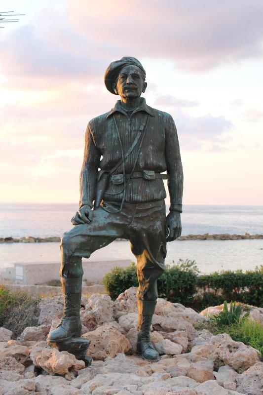 George Grivas Statue