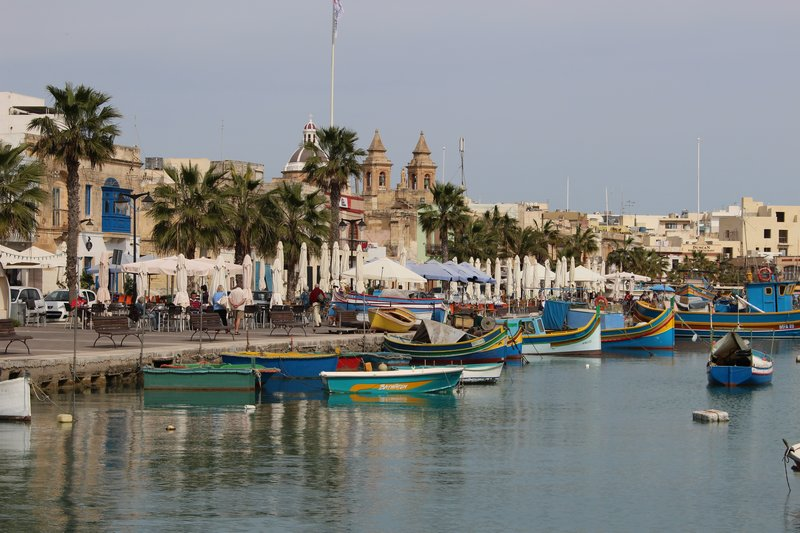 Marsaxlokk Harbour View