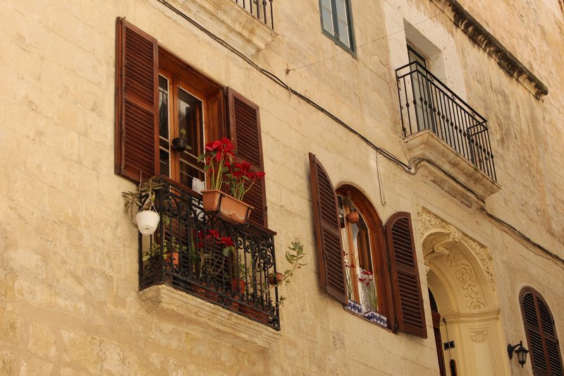Shutters and balconies - Valletta