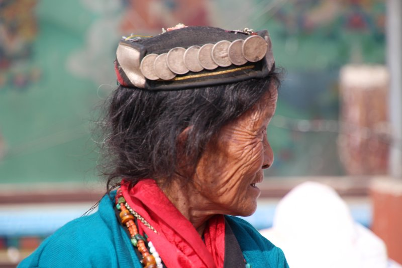 Local Woman at Boudhanath