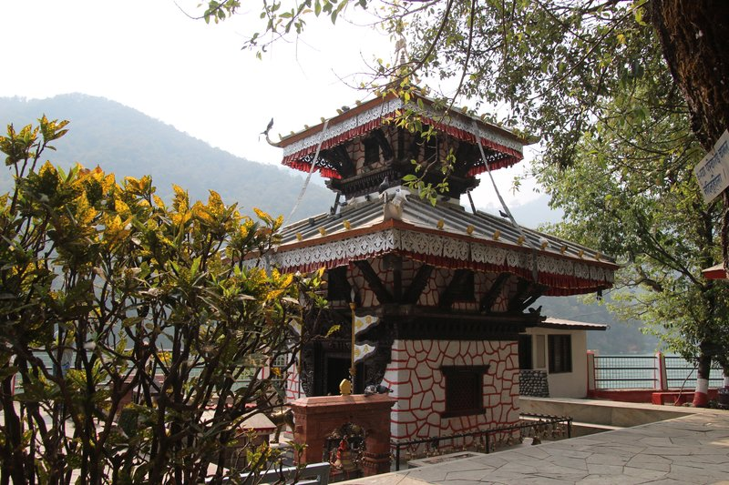 Small Temple on Phewa Lake