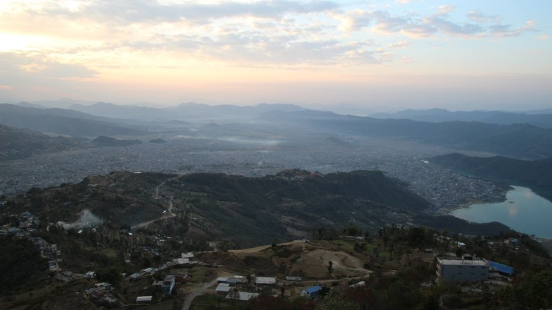 Looking over Pokhara