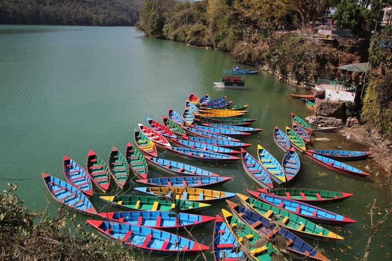 Overlooking Phewa Lake