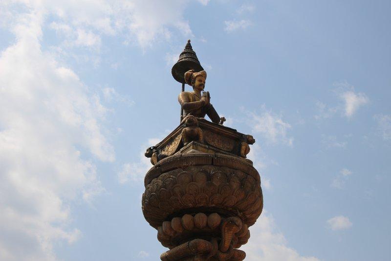 Gilded Statue og King Bupathindra Malla