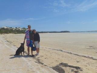 Me, Mum and Dad at Long Beach