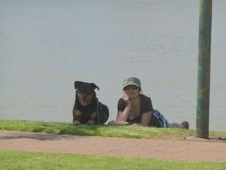 Me and Mum at Renmark