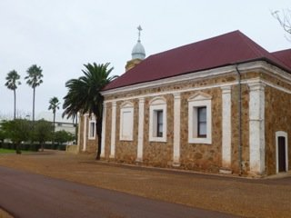 One of many big buildings in New Norcia