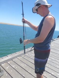 The professional fisherman!