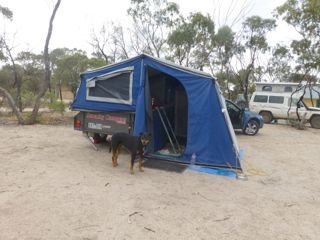 campsite in Hyden