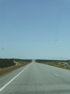 The road to Jurien Bay
