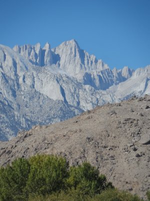 A view of the highest peak in the lower 48: Mt. Whitney
