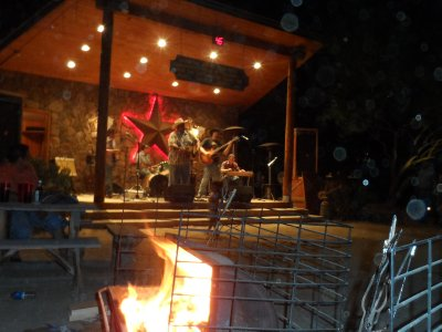 Hot Music at the San Tan Flat indoor/outdoor restaurant