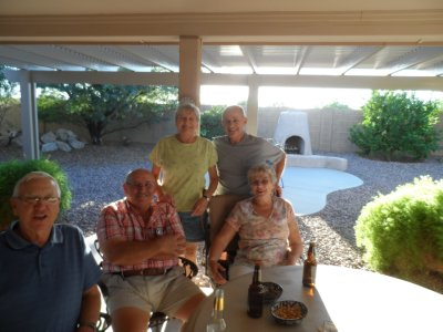 With Bud and Barb Rinke in Mesa