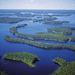 Lake saima Eastern Finland