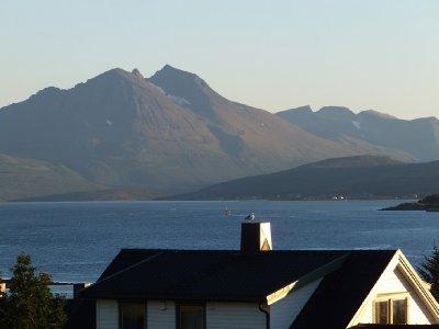Norwegian Alps from Tromsø