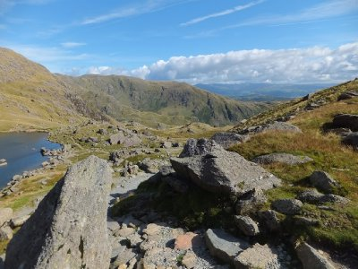 Lake district from the Old Man's point of view