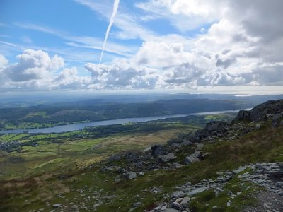 Coniston Water from the Old Man