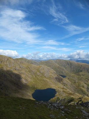Low Water Tarn from the Top