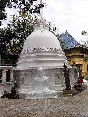 Gangaramaya Temple -Front-