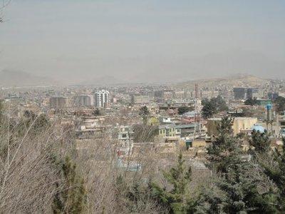 Kabul areial veiw