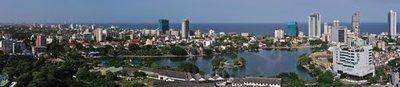 Sri Lanka skyline