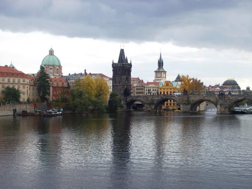 Prauge from across the river