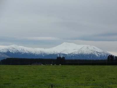 Another shot of the snow clad Alps