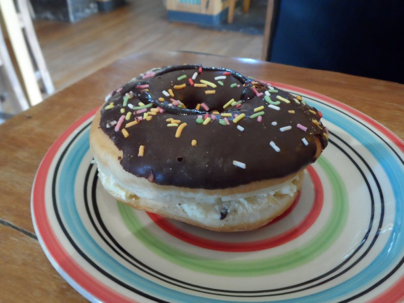 Homer Donut - Lunch at Springfield