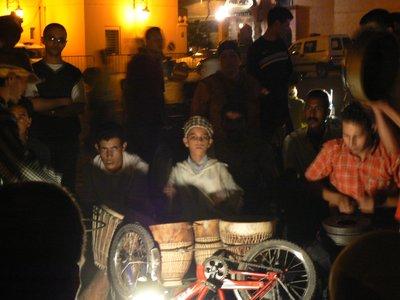 Musicians at Djeema El-Fna, Marocco