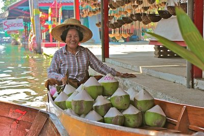 Floating Markets - Bangkok Thailand