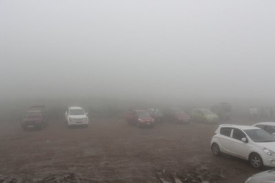 Ponmudi vehicle parking area