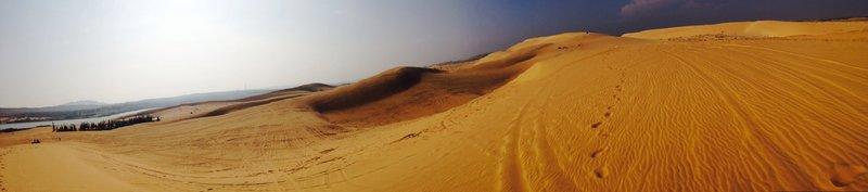 Sand Dunes. Vietnam