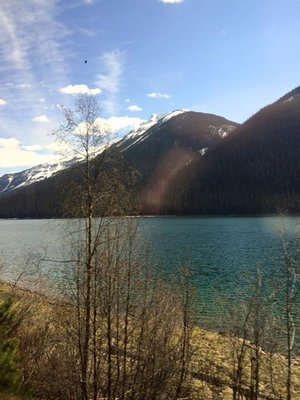Canada VIA Rail Overnight to Jasper