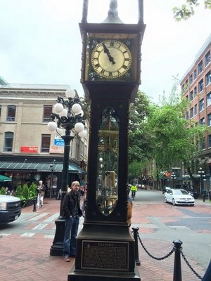 Steam Clock, Gastown Vancouver