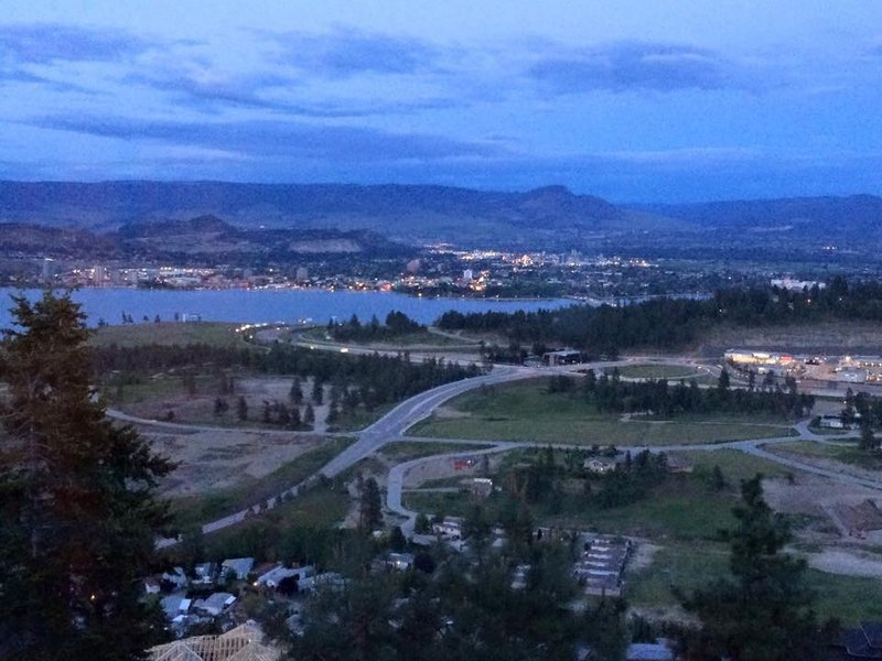 View of Kelowna