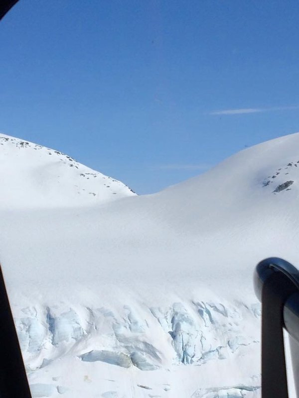 Helicopter Ride to Medenhall Glacier, Juneau Alaska