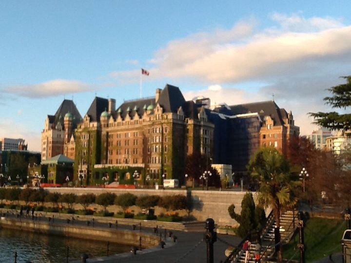 The Empress Hotel, Victoria BC