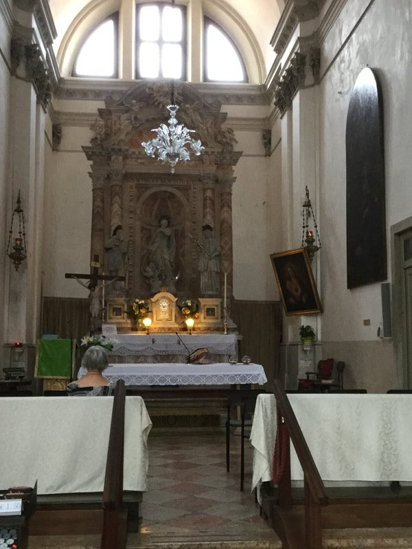 Venice - Church of St Lucia