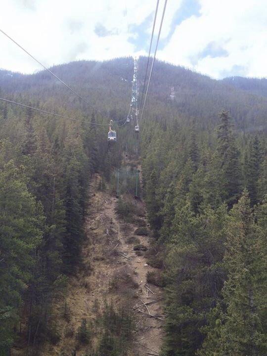 Gondola To Sulphur Mountain Peak