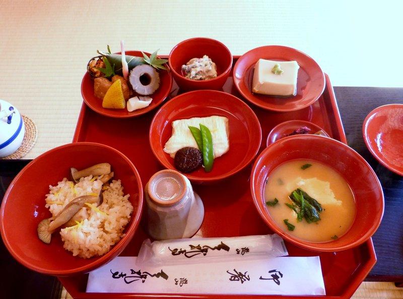 Shigetsu Lunch