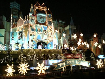 It's a Small World ride (night)