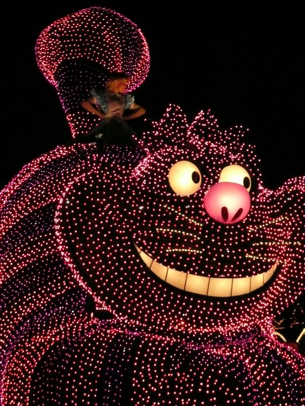 Cheshire Cat float