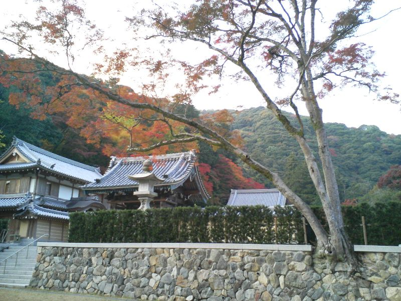 Temple in Autumn