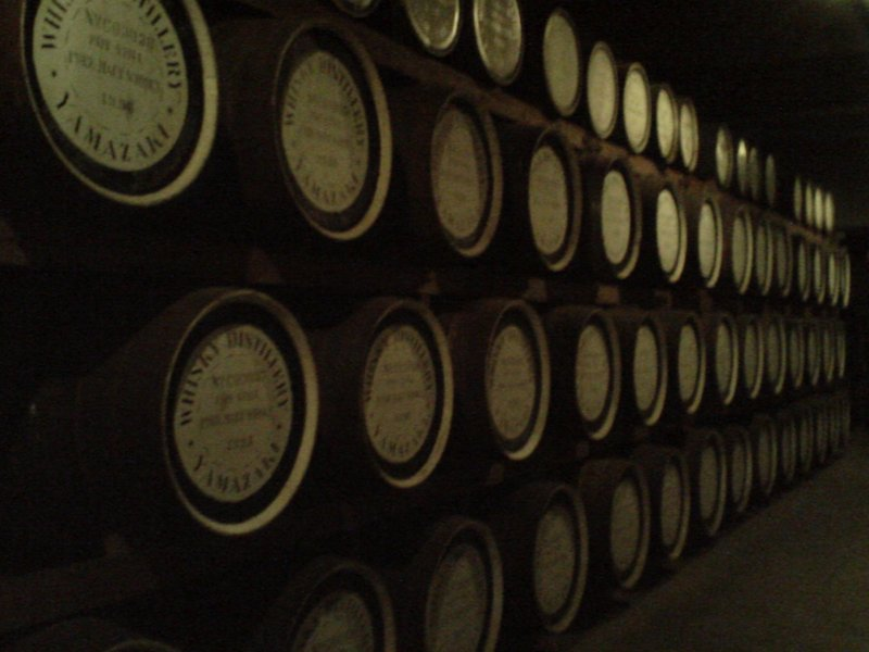 Whisky Storage