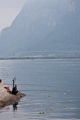 Fishing in Kunming